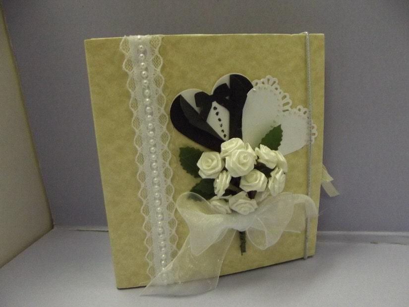 Small Wedding Shower / Wedding Scrapbook