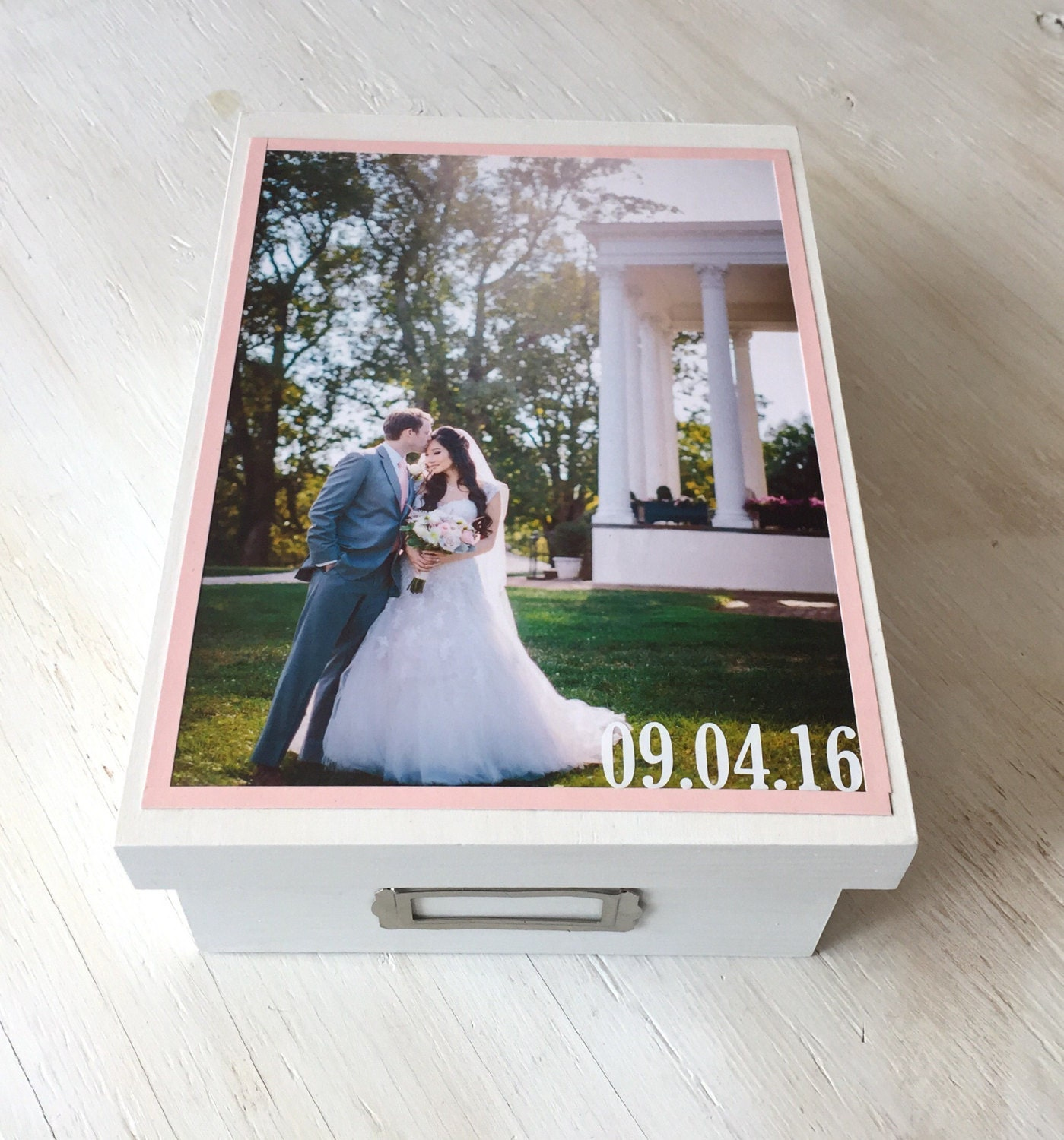 Vanity box for wedding