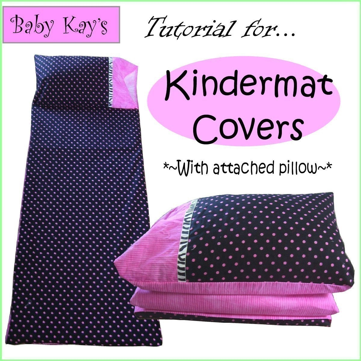 Diy Tutorial For Kindermat Covers With By Babykaysappliques