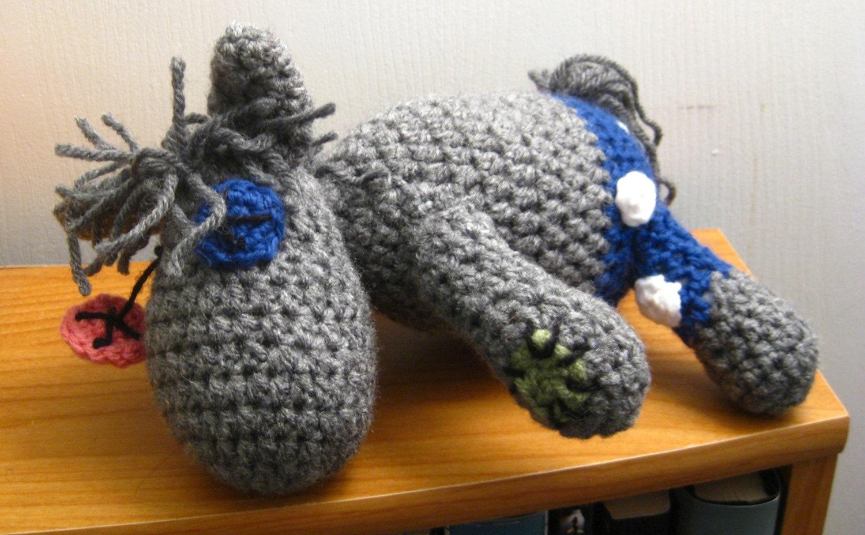 Amigurumi Magic Doll : Smarty Pants Crocheted MLP Amigurumi Plush My by acrylicsheep