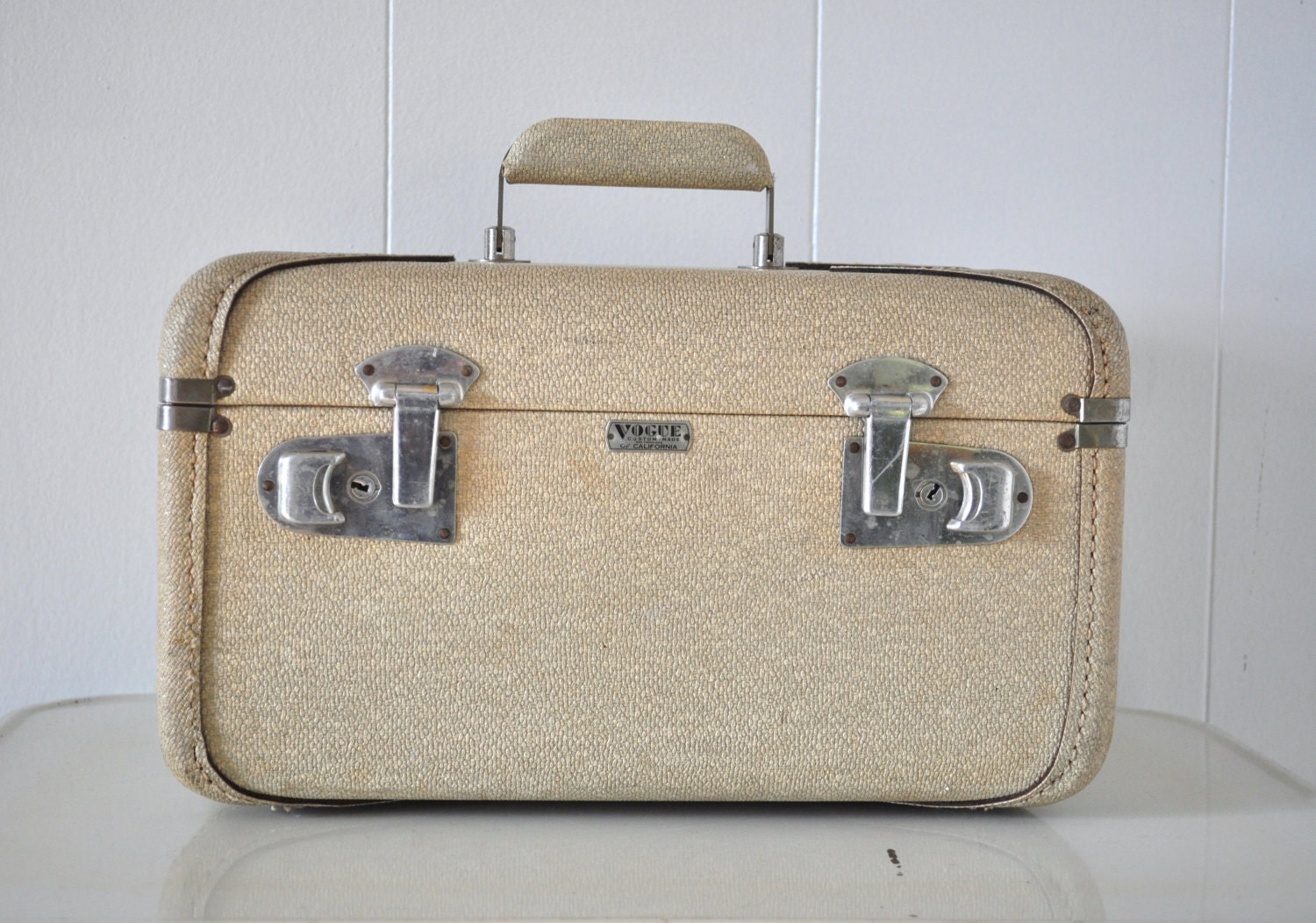 Vogue Train Case