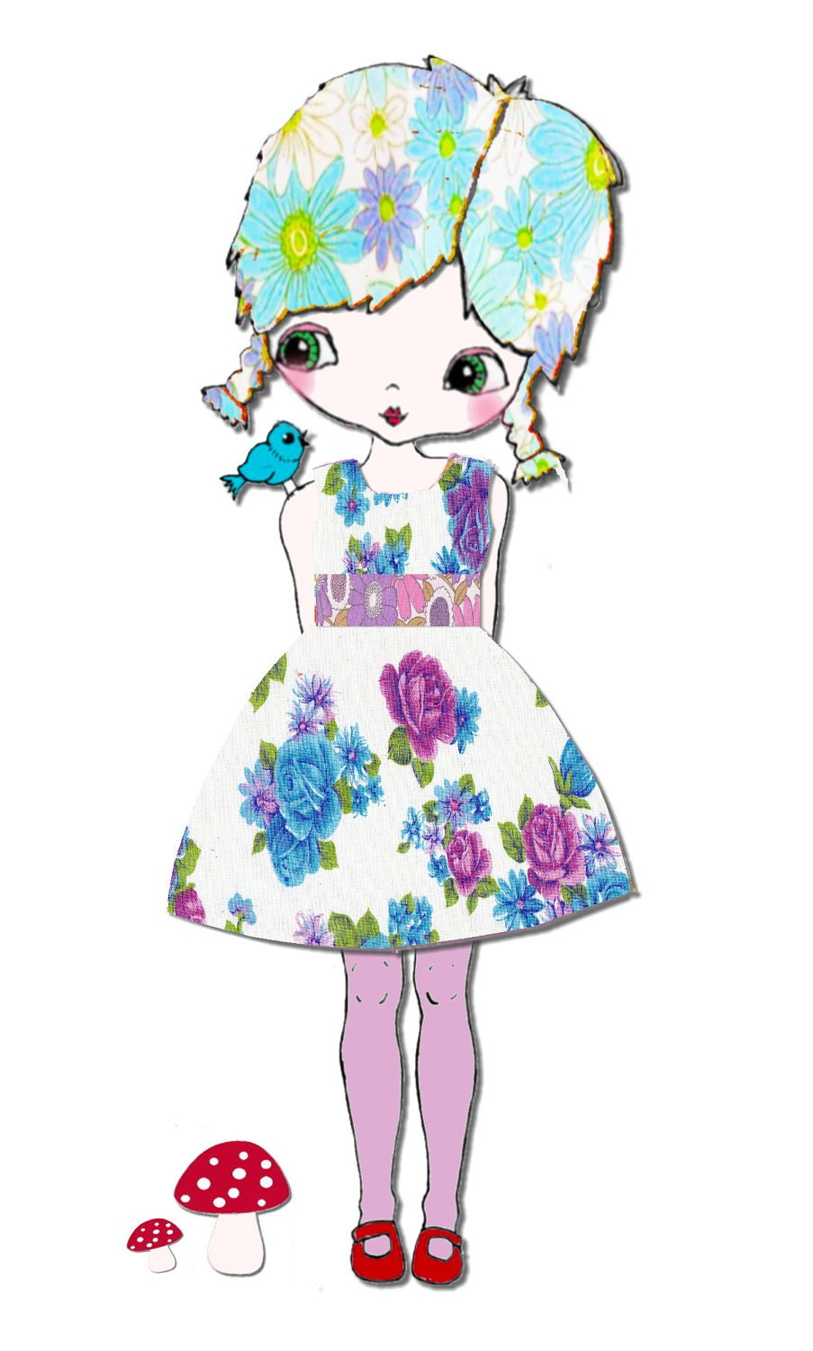 Character Created Just for you Custom Illustration or Portrait