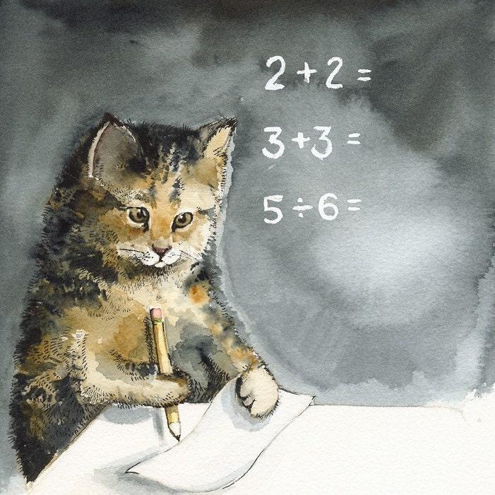 Cat Art - MATH