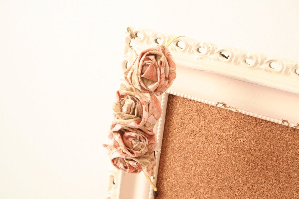 English Toffee fabric rosette headband