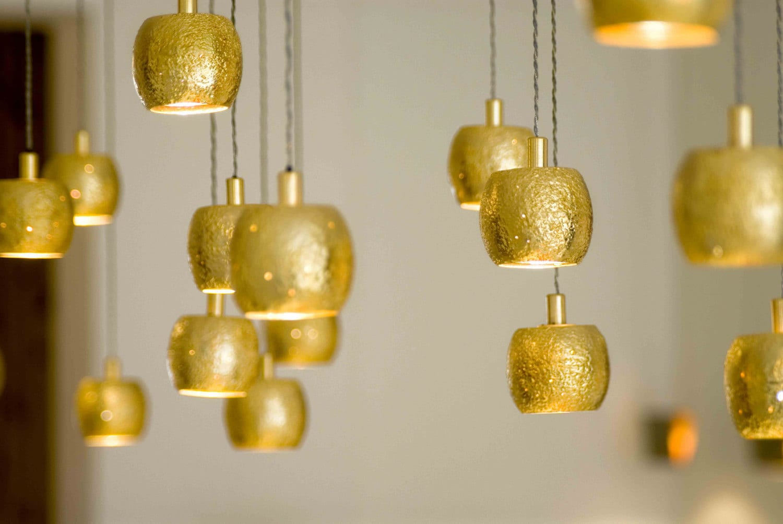 Gold Ball light