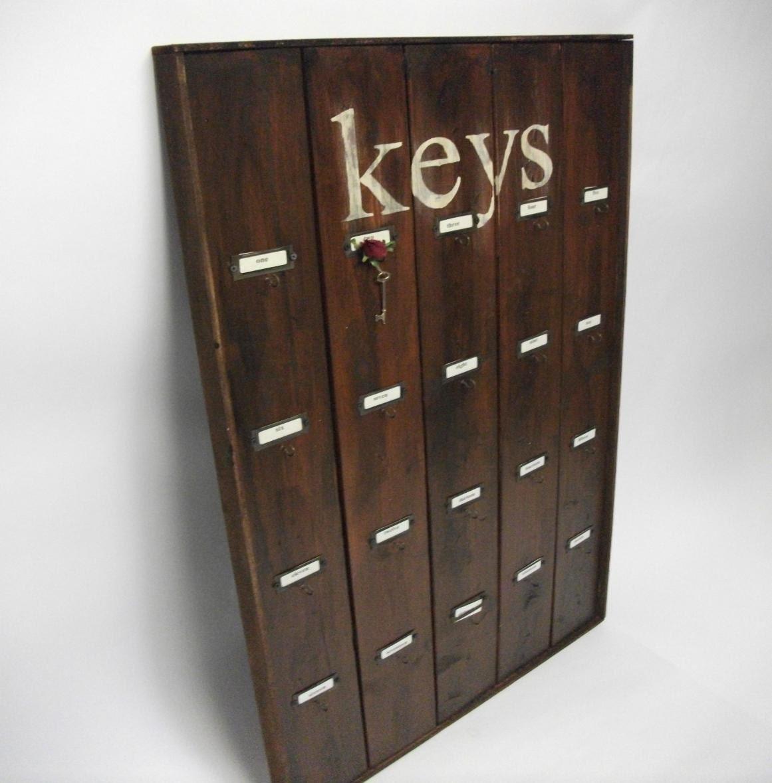 Large hotel key rack by dinwiddieshome on etsy - Vintage hotel key rack ...