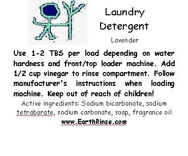 Sample for Lavender Scented Natural Homemade Laundry Detergent Soap 2 4 loads