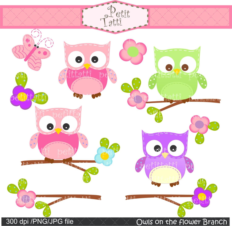 Owl Clip Art Wallpaper Pink Owl Clip Art
