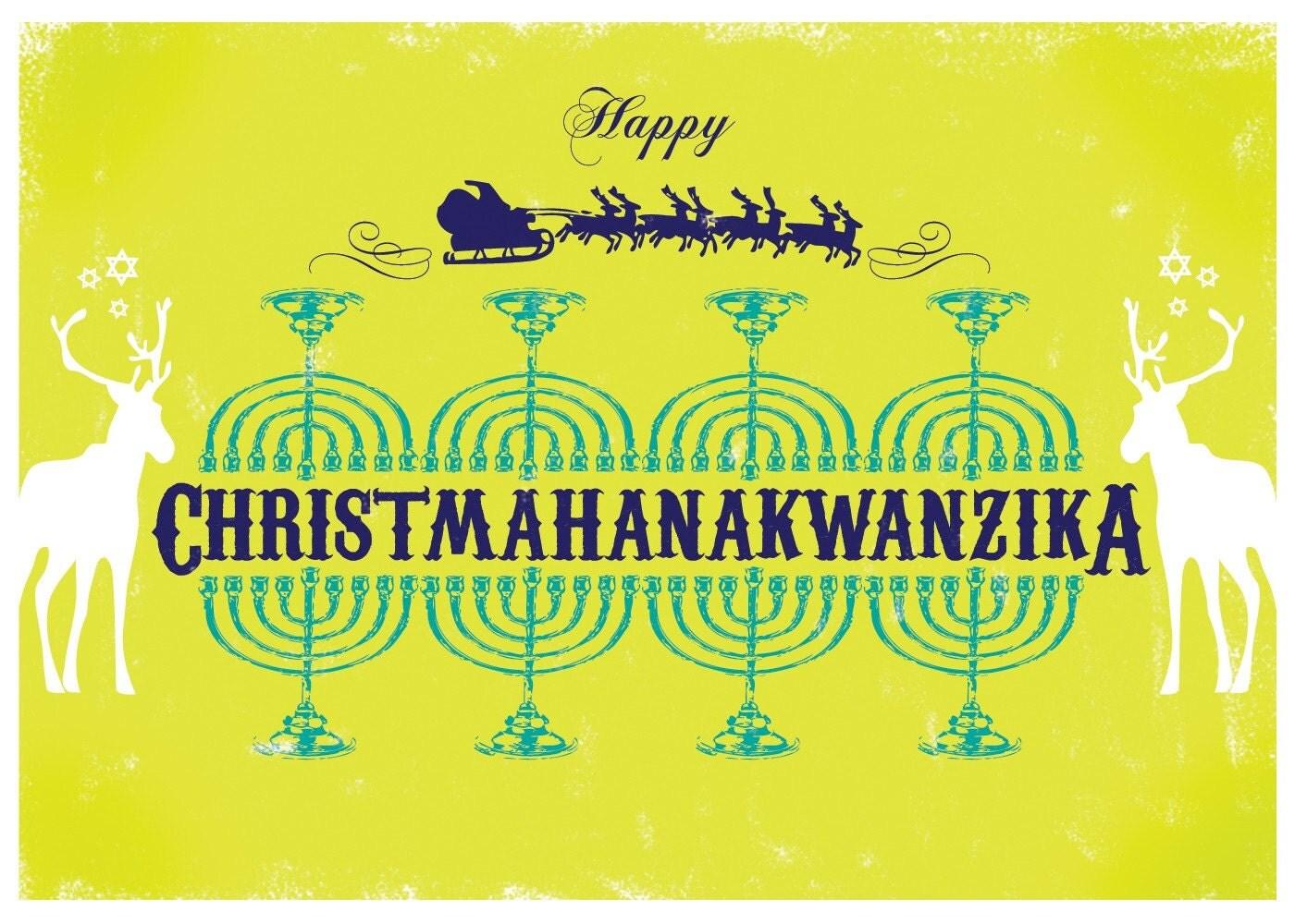 Christmahanakwanzika Cards - Set of 6