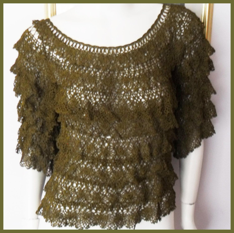 Crochet Pattern Central - Free Women's Short Sleeved Tops