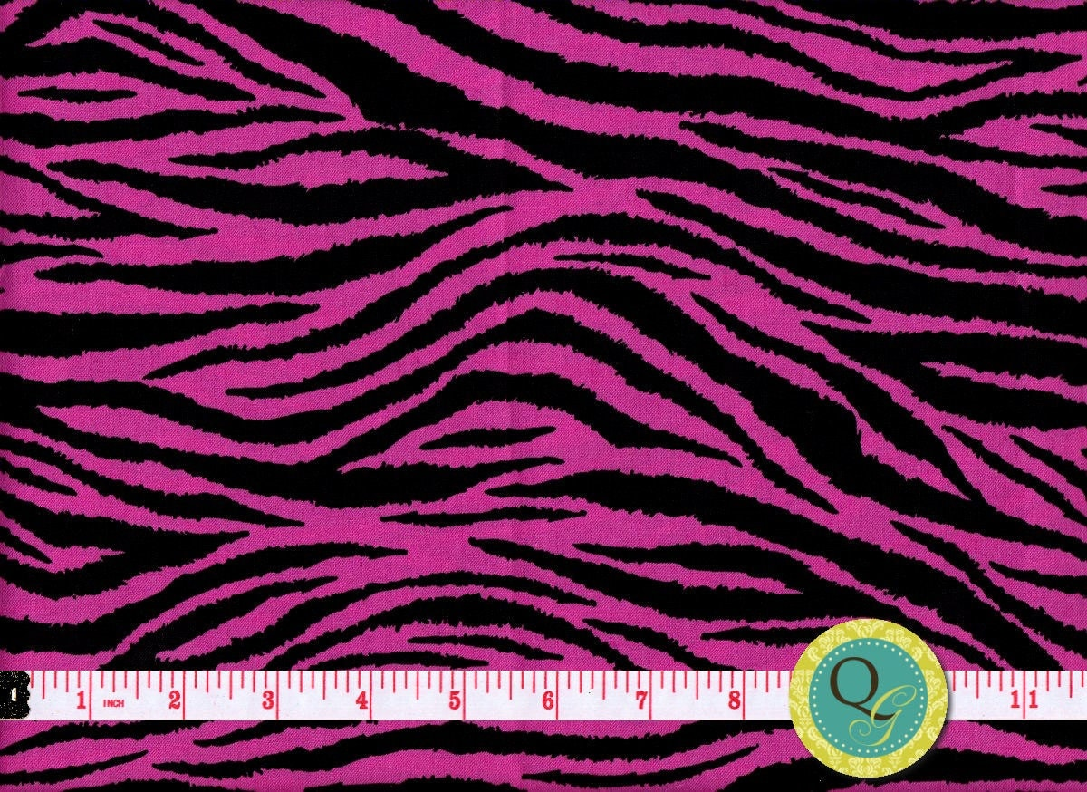 Items similar to designer fabric by the yard hot pink for Designer fabric by the yard