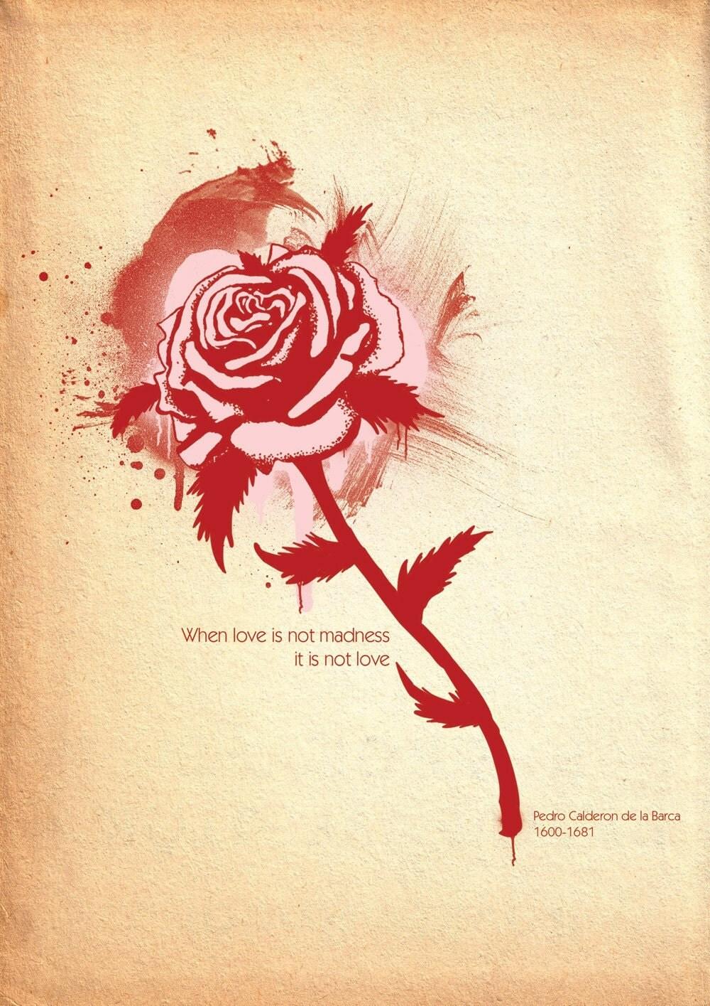 Romance // A4 print