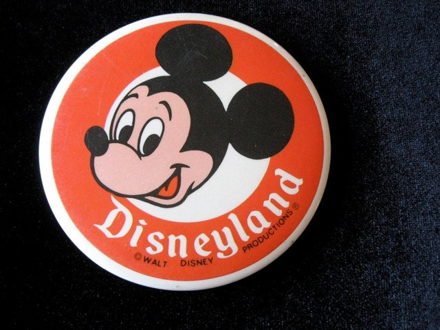 Mickey Mouse Pinback Button