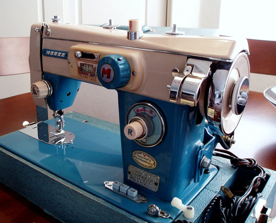 morse sewing machine history