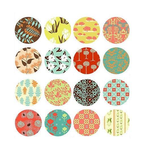 Pattern Sticker Set - 4Sheet s 16pcs