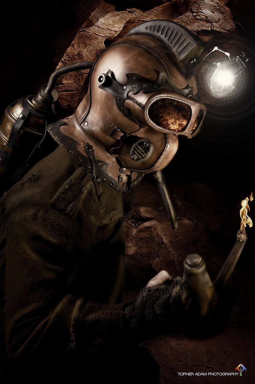 Tom Banwell Steampunk Helm