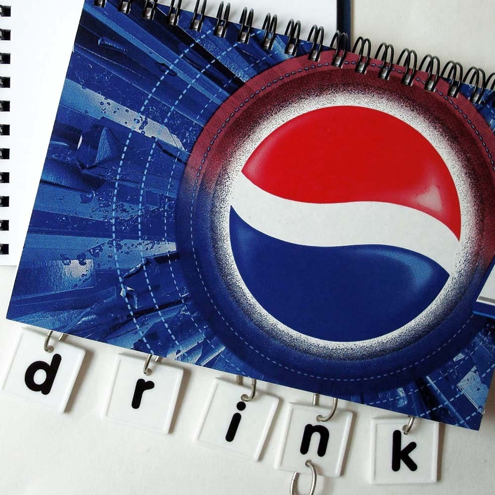Think Again Notebook- Pepsi times Two