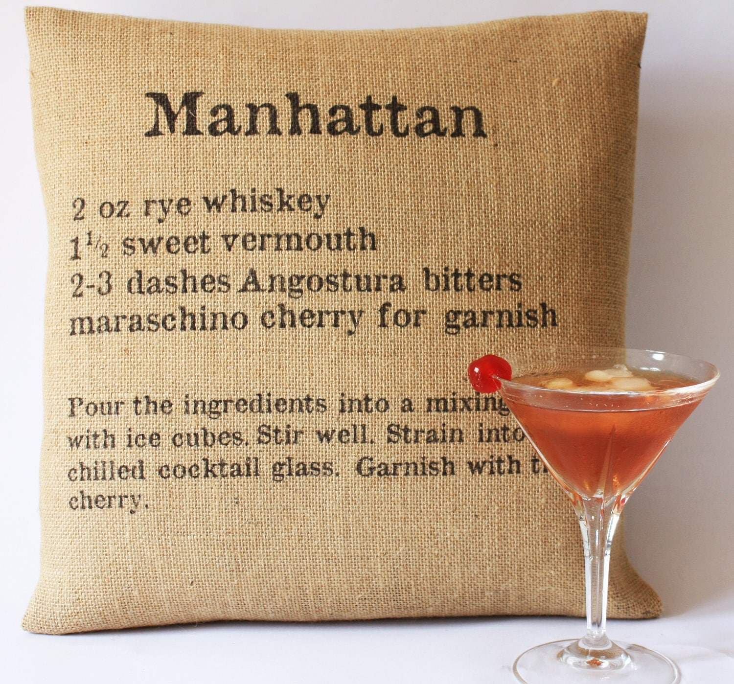 Cocktail Classics Cushion Covers