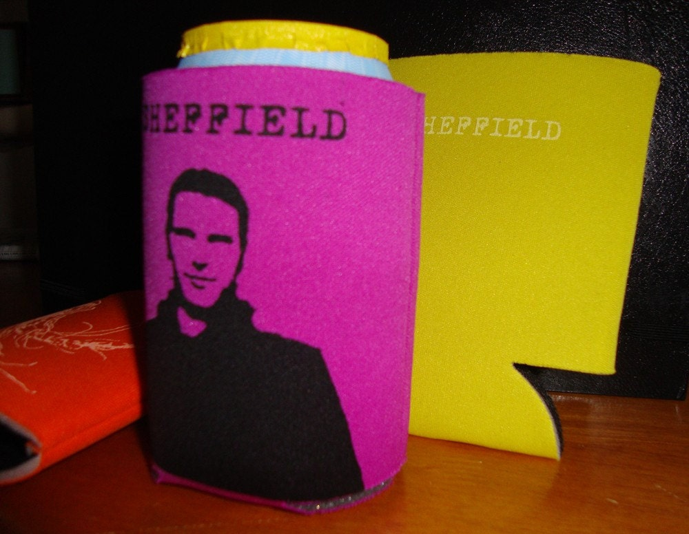 Colorful Ryan Sheffield Koozies