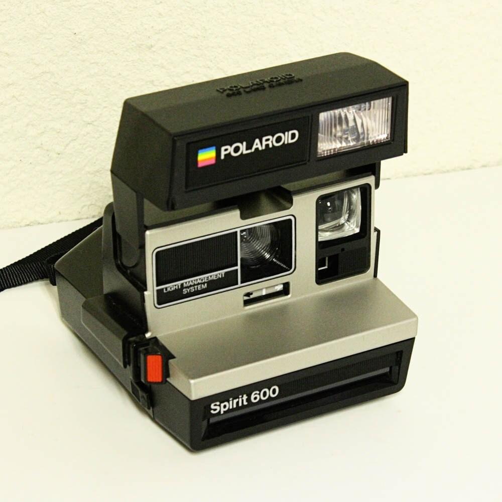 vintage camera polaroid spirit 600 lms 600 land by oldcottonwood. Black Bedroom Furniture Sets. Home Design Ideas