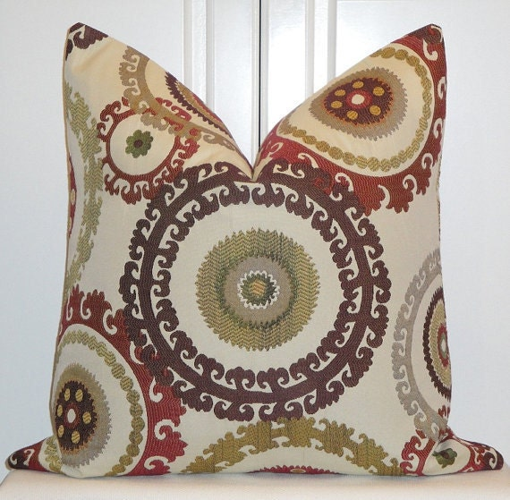 Decorative Pillow Cover 22 x 22 Inch by TurquoiseTumbleweed
