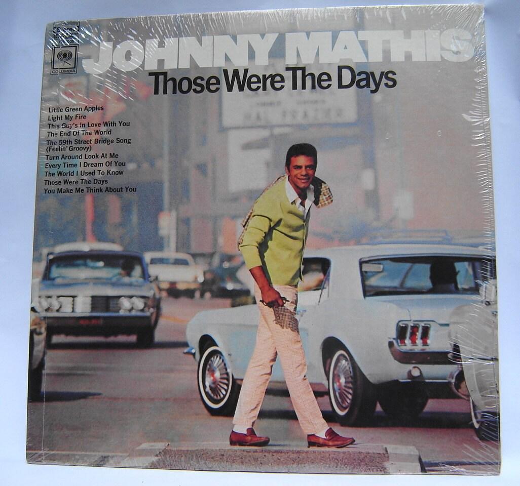 Johnny Mathis 1960s Sealed Original  Vinyl LP,  2-Record Set  Vintage, New-Mint