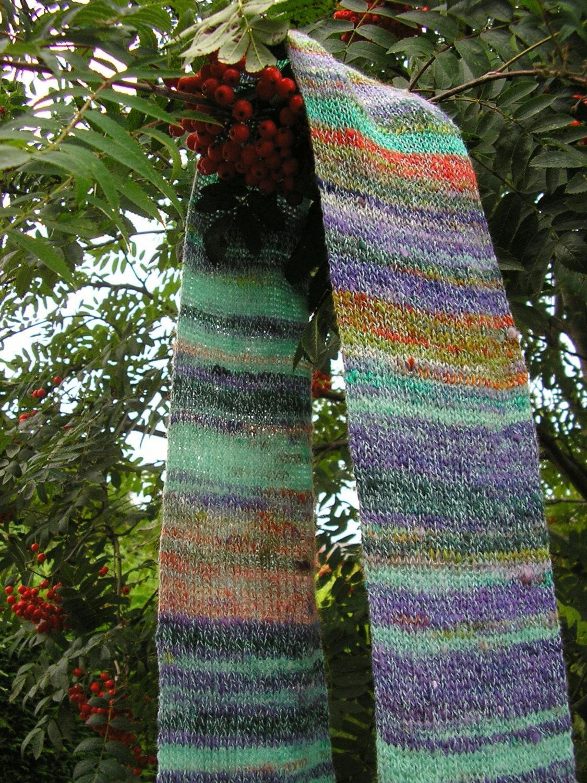 Handmade knitted scarf | Handmade