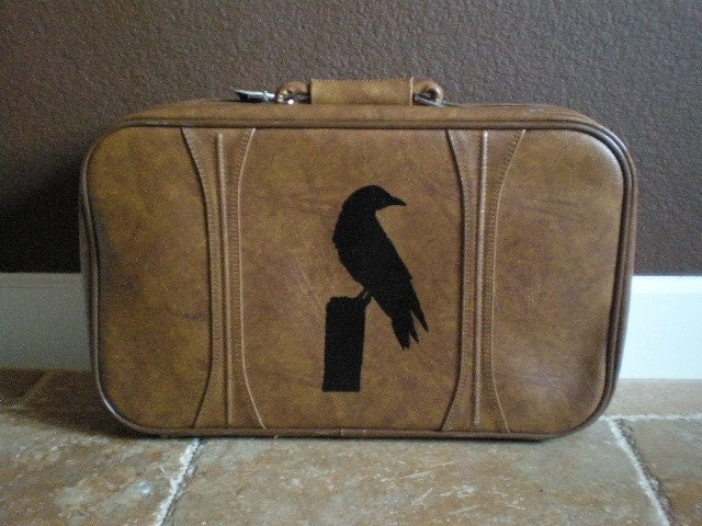 Vintage American Tourister Suit Case-Fly Away