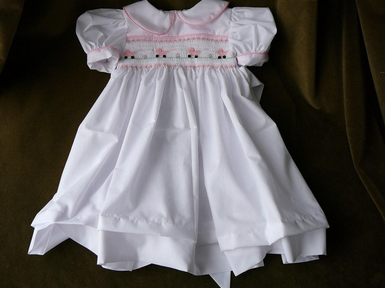 Infant girl smocked dresses