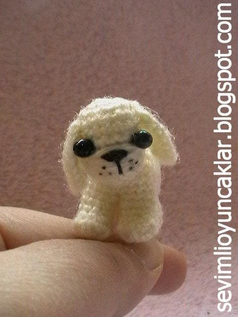 Amigurumi 1.2 inc Miniature Dog Pattern by Denizmum on Etsy