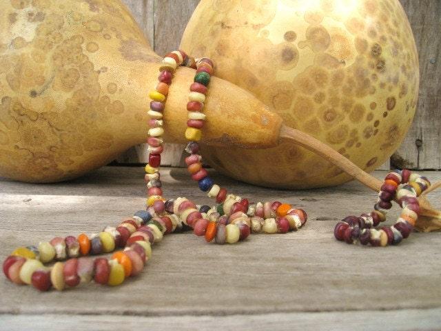 Индийский Ожерелье Кукуруза и браслет