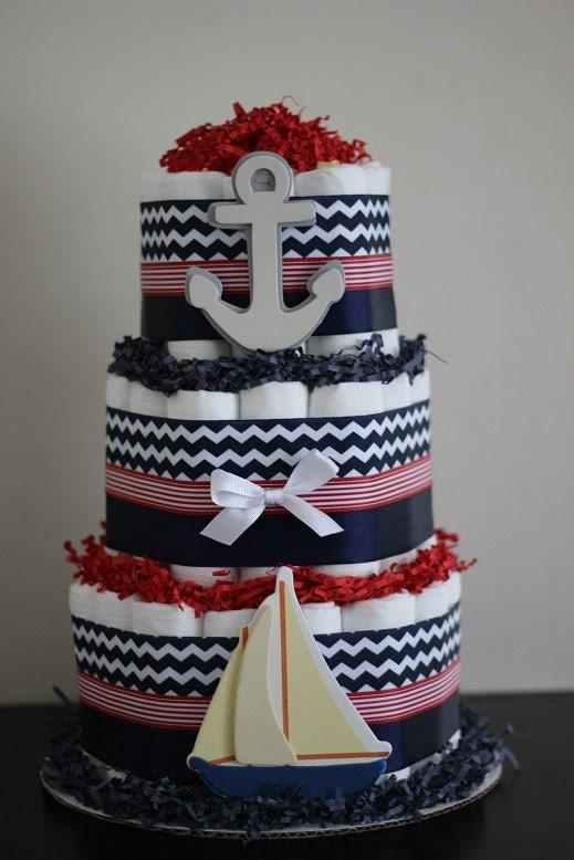 Navy Cake Site Etsy