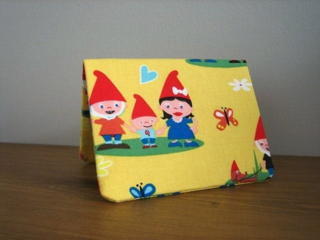Card Wallet - Garden Gnomes