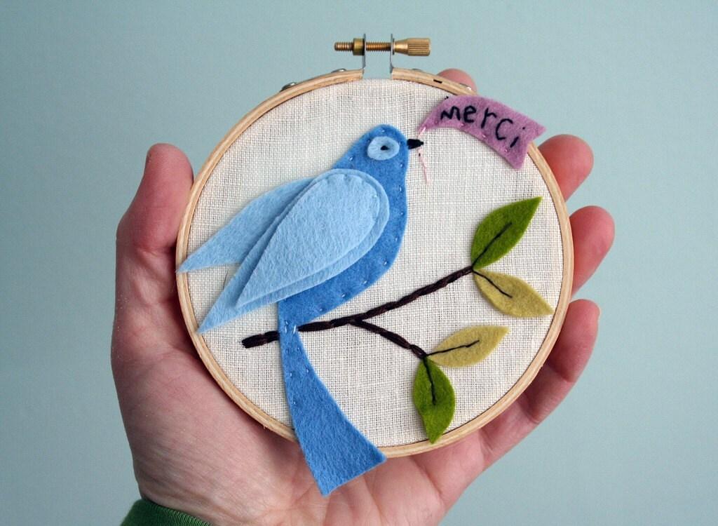 Little City Hoop--Bluebird/Merci
