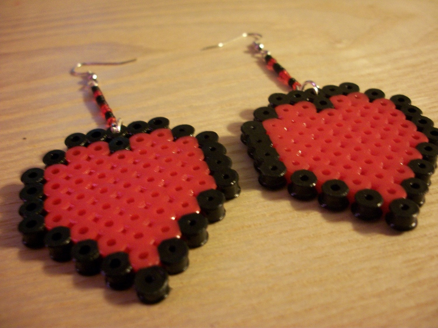 Legend of Zelda Life Heart Earrings