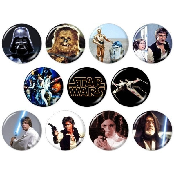 Star Wars 1.25 inch Pinback Button Badges