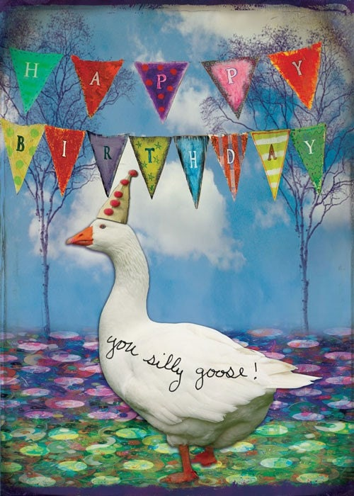 Goose Party Birthday Greeting Card Paper Goods By