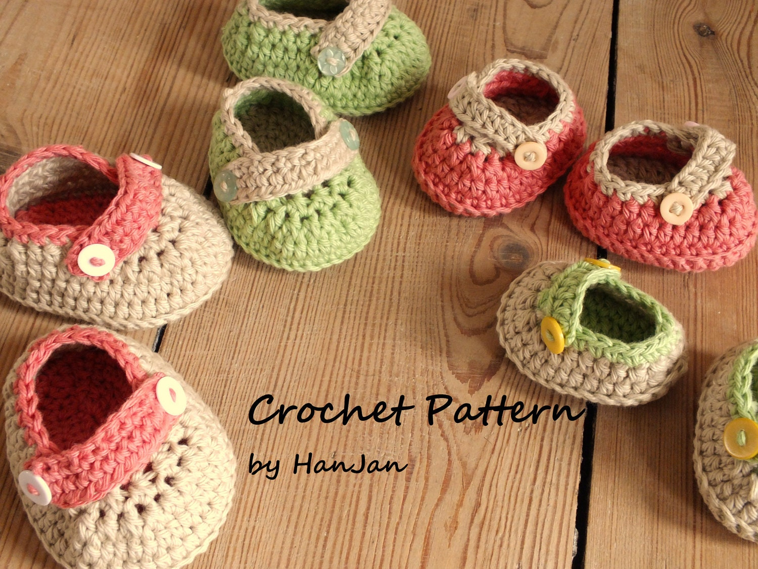 Simple Crochet Patterns For Baby Booties : Baby Shoes Tutorial Crochet