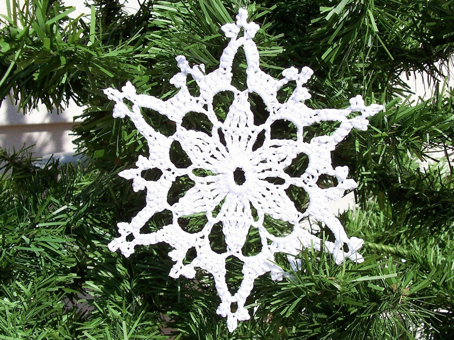 Crocheted Snowflake Patterns Crochet For Beginners