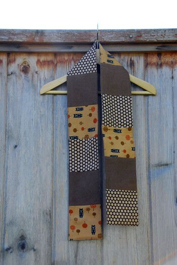 Child's Scarf - brown bears