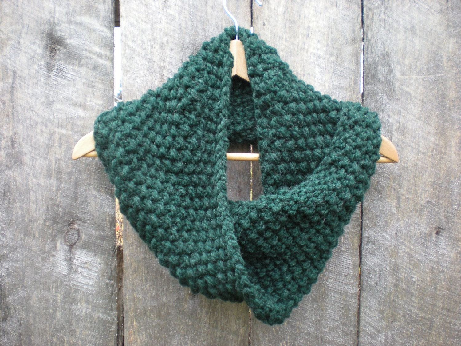 SALE - The Cowl with a Twist PINE