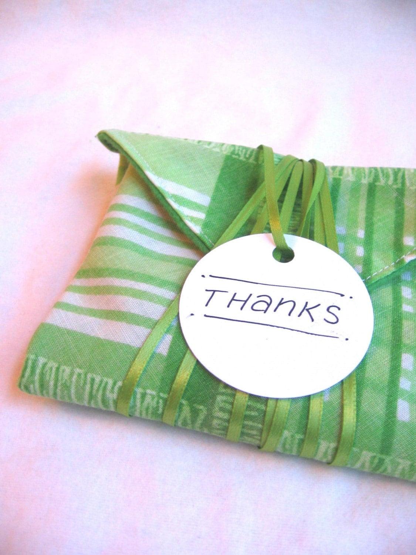 rikrak fabric gift wrap