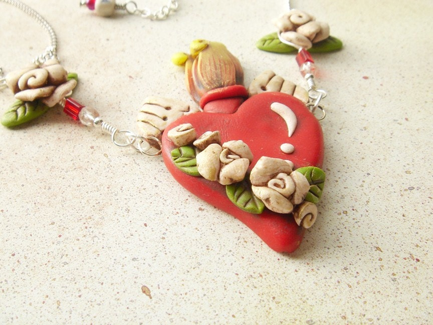 Sacred Heart Necklace 1 Purity