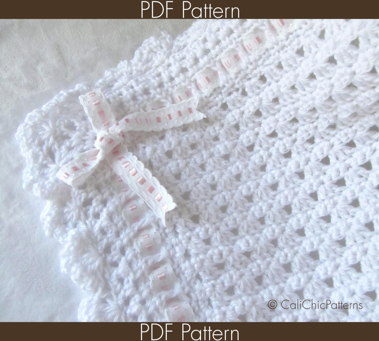Crochet Baby Blanket PATTERN 41 Angel Series by ...