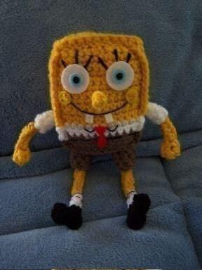 Spongebob Crochet Pattern