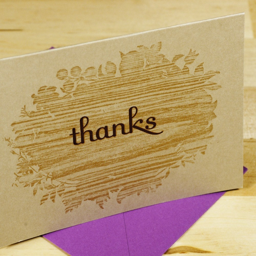 il 430xN.44529256 Etsy Round Up   Thank You Cards, part 2