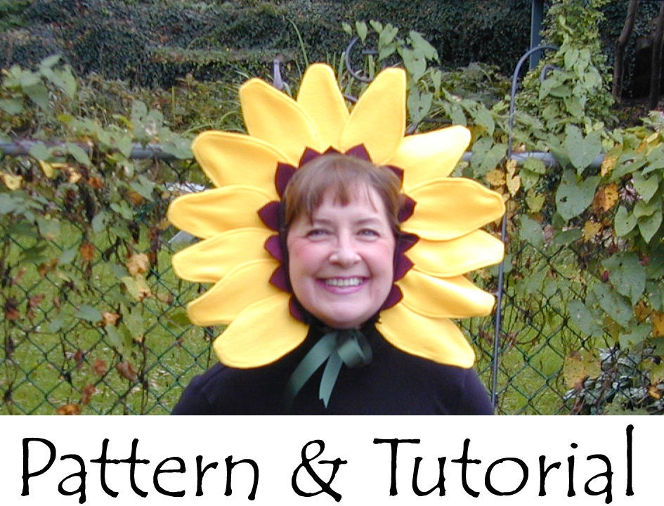 sandvicrochet: sunflower fancy dress costume