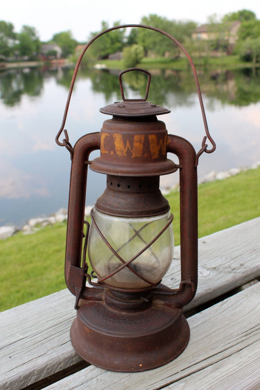 Vintage Antique Little Supreme Lantern Great By Shizzyimagery