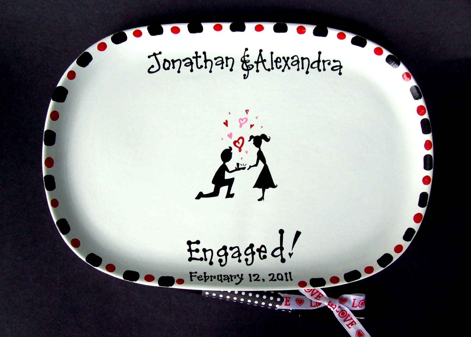 SIGNATURE PLATE for ENGAGEMENT