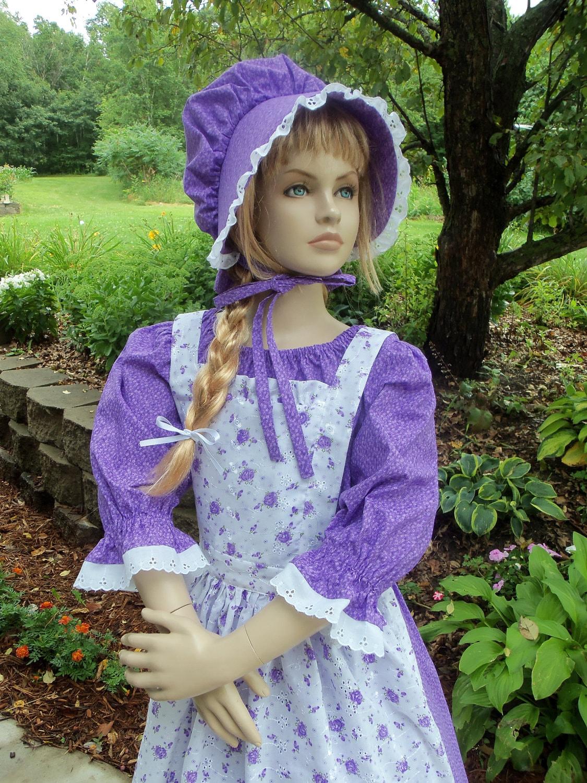 Similiar Girls Pioneer Prairie Dress Costume Keywords